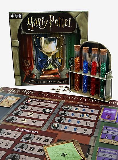 Harry Potter House Cup Competition Board Game Harry Potter Houses Harry Potter Board Game Board Games