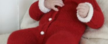 Kruippakje breien voor de kerst Ouderwets Breien