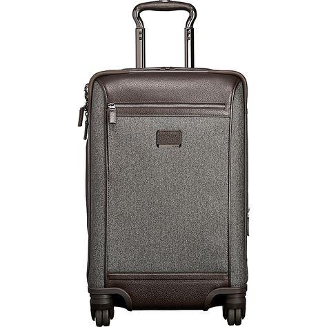 50ca024227b Image of Tumi Astor Osborne 4 Wheel International Carry-On Earl Grey - Tumi  Small Rolling Luggage