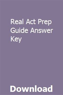 The real act, 3rd edition (real act prep guide) read book [pdf.