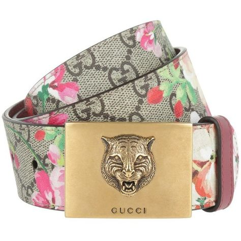 4b2e8598bb8 Gucci Small Leather Goods - GG Blossom Belt Coupling Buckle Rose - in.