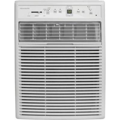Frigidaire 10 000 Btu 115 Volt Slider Casement Room Air Conditioner With Full Funct Room Air Conditioner Window Air Conditioner Casement Window Air Conditioner