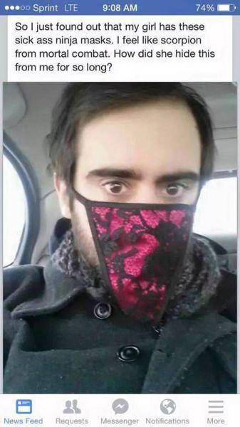 パンツ マスク