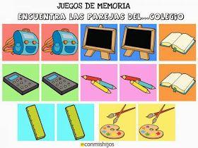 Yo También Leo Juegos De Memoria Juegos De Memoria Juegos Educativos Preescolar Memoria