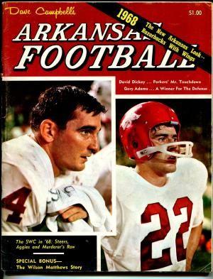 Image Result For Dave Campbell S Arkansas Football Arkansas