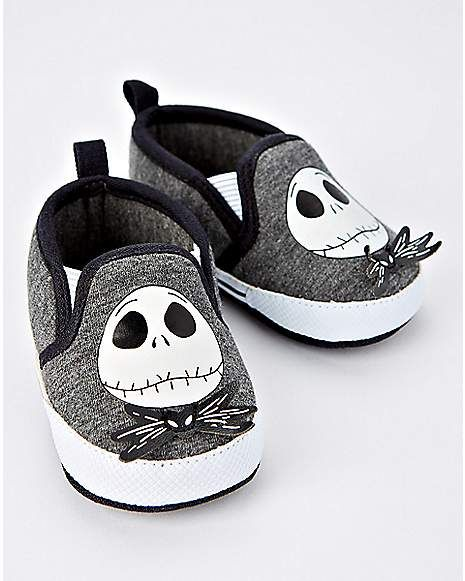 0225b07c8d40b Gray Jack Skellington Baby Shoes - The Nightmare Before Christmas ...