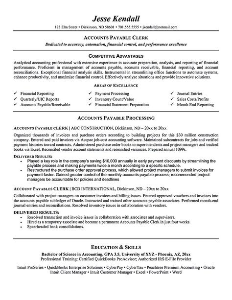 accounts payable resume sample - http://exampleresumecv.org/accounts ...