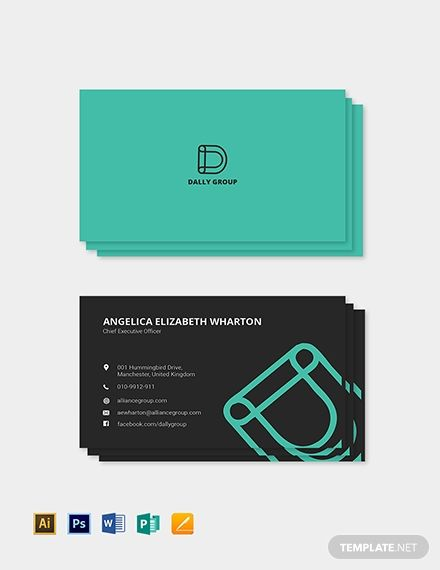 Simple Ceo Business Card Template Free Jpg Illustrator Word Apple Pages Psd Publisher Template Net Ceo Business Card Free Business Card Templates Business Card Template