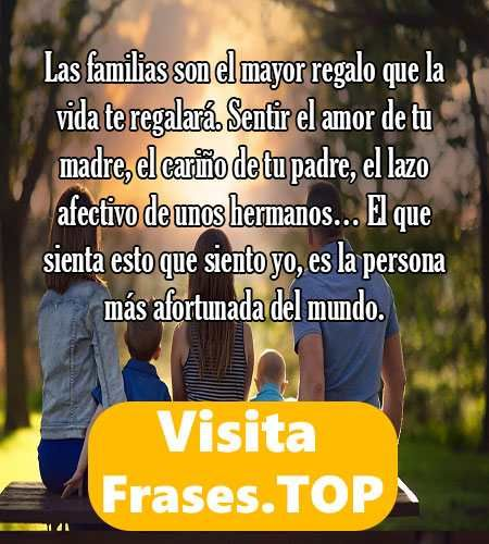 Frases De Familia Feliz Y Unida De Amor Cortas Y