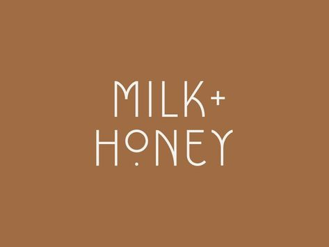 Milk + Honey | Primary Logo