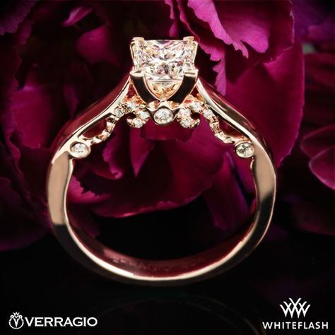 Verragio 4 Prong Knife-Edge Solitaire Engagement Ring | 1903