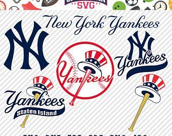 New York Yankees Svg Etsy New York Yankees Logo New York Yankees Yankees