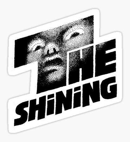 The Shining Stickers Horror Movies Skate Scrapbooking Stanley Kubrick Film