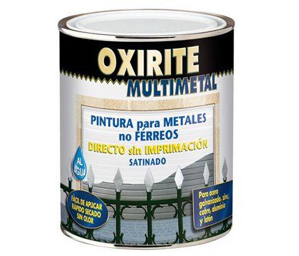 Pintura Multimetal Oxirite Oxirite Multimetal Blanco Leroy