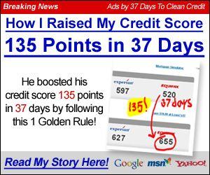 Improve credit score..