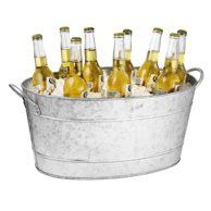 Home Beverage Tub Galvanized Beverage Tub Tablecraft