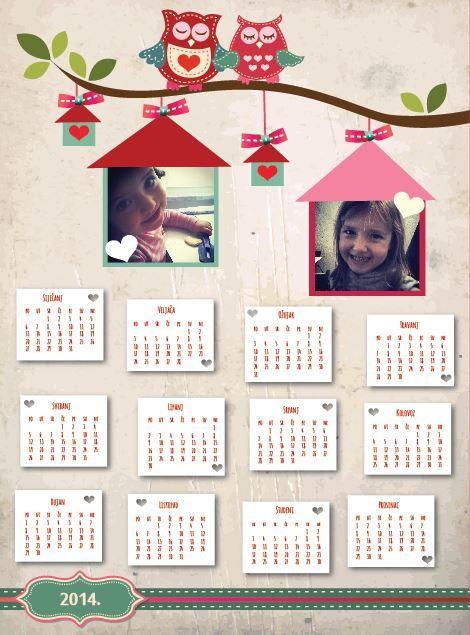 9 best creative personalized calendars kreativni personalizirani kalendari images on pinterest personalized calendars