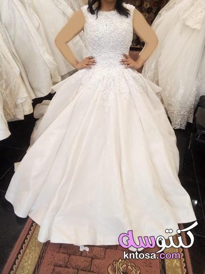 فساتين زفاف عروس 2019 مطرزة وفخمة اجمل بدلات اعراس موديلات فساتين زفاف لأجمل عروسة 2020 Dresses Wedding Dresses Lace Formal Dresses