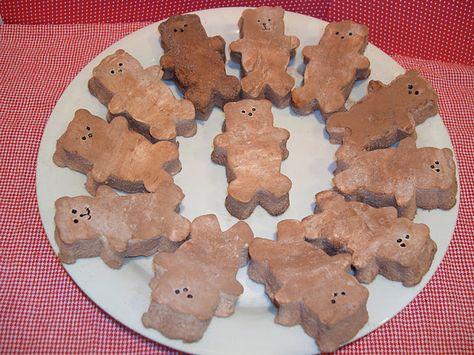 "Make your own chocolate marshmallow bear ""peeps""."