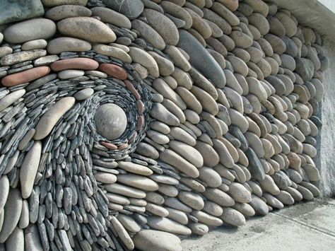 Spectacular Stone Walls Blending Ancient Art into Creative Wall Design