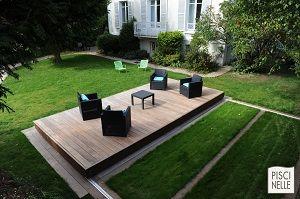 Terrasse Coulissante De Piscine Fermée Avec Du Mobilier