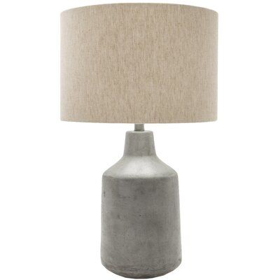 Shaun 25 Table Lamp Allmodern In 2020 Grey Table Lamps Table Lamp Concrete Table Lamp