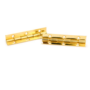 Highpoint 105 Degree Stop Hinge Brass Plated 2 Pair Hinges Brass Hinges Brass