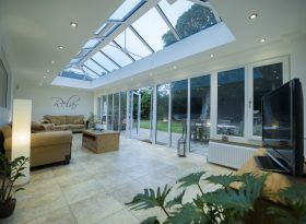 Glass To Floor Conservatories From County Sussex Kent Glass Room Conservatory Specialists Glass Room House With Porch Glass Conservatory