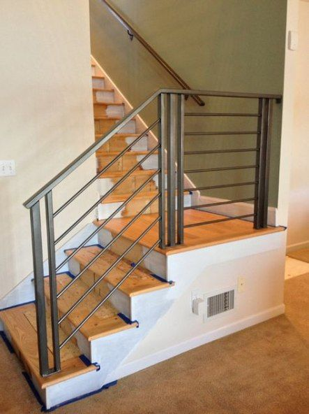 Modern Stairs Railing Brass 41 Ideas Stairs In 2019 Metal