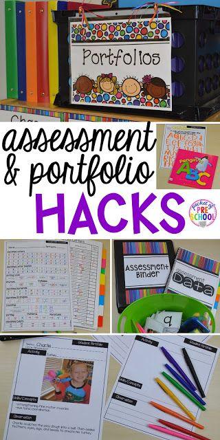 Student Portfolio and Assessment Organization HACKS - Pocket of Preschool