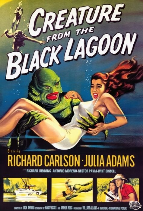 Creature from the Black Lagoon Movie Poster (27 x 40)