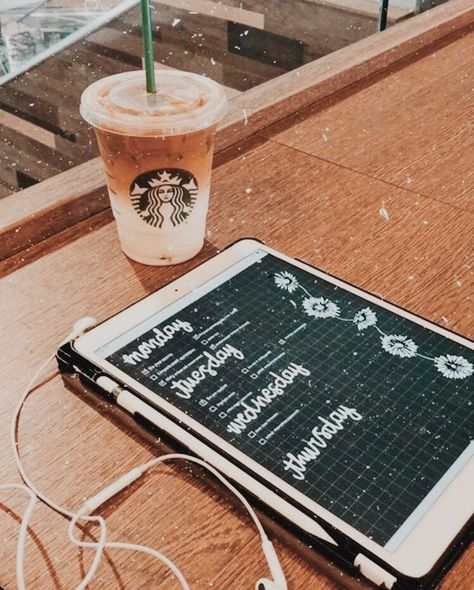 """""""Coffee themed bujo study and planning. Organise your study with Goodnotes and an iPad Pro."""" - """"Coffee themed bujo study and planning. Organise your study with Goodnotes and. Ipad Apps, Goodnotes 4, Study Organization, School Study Tips, Pretty Notes, Note Taking, Study Hard, School Notes, Study Motivation"""