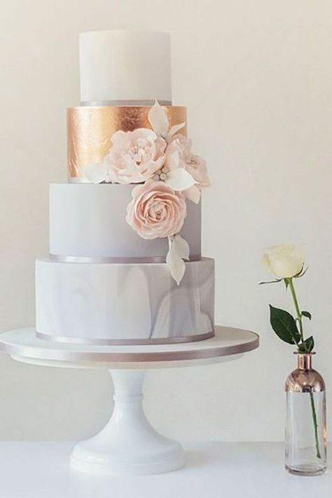 Gorgeous winter wedding cakes ideas trends in 2017 19