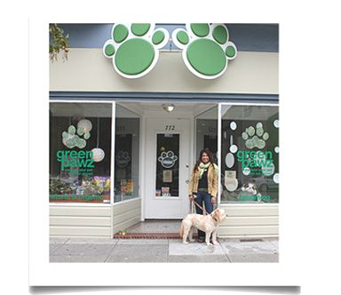 I like the paws for signage