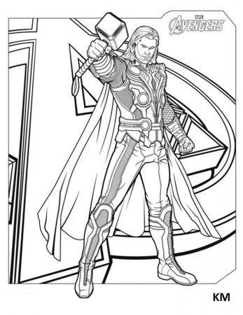 Thor Ausmalbilder 7 Ausmalen Coloring