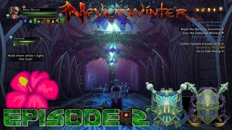 The arcane reservoir - Neverwinter Xbox one S2 episode 2