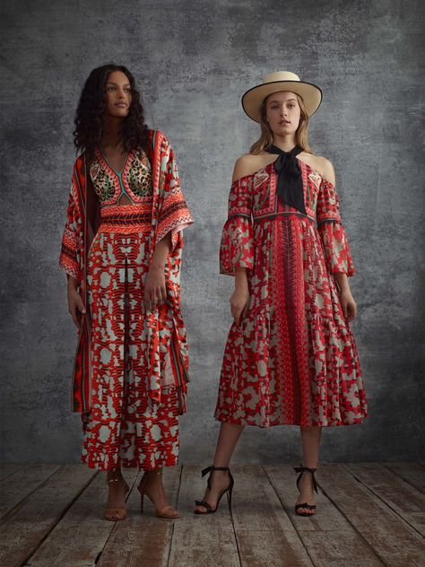 Temperley London Pre-Fall 2018 Fashion Show Collection