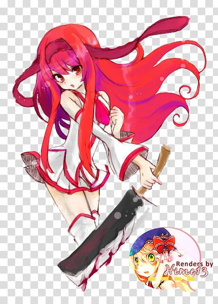 Red Haired Female Anime Character Transparent Background Png Clipart Female Anime Anime Characters Anime