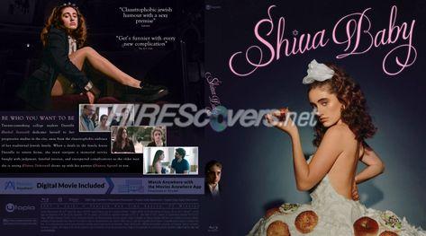 DVD Cover Custom DVD covers BluRay label movie art - Blu-ray CUSTOM Covers - S / Shiva Baby (2020)