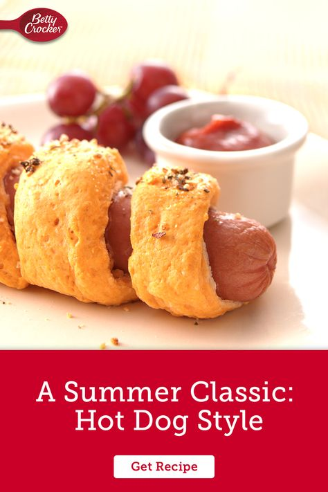 Enjoy the warm weather with A Summer Classic: Hot Dog Style. Pin today for six delicious and easy dinner recipes.