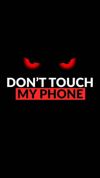 Horosquote On Twitter Dont Touch My Phone Wallpapers Funny Phone Wallpaper Dont Touch My Phone Wallpaper Iphone phone wallpaper dont touch my