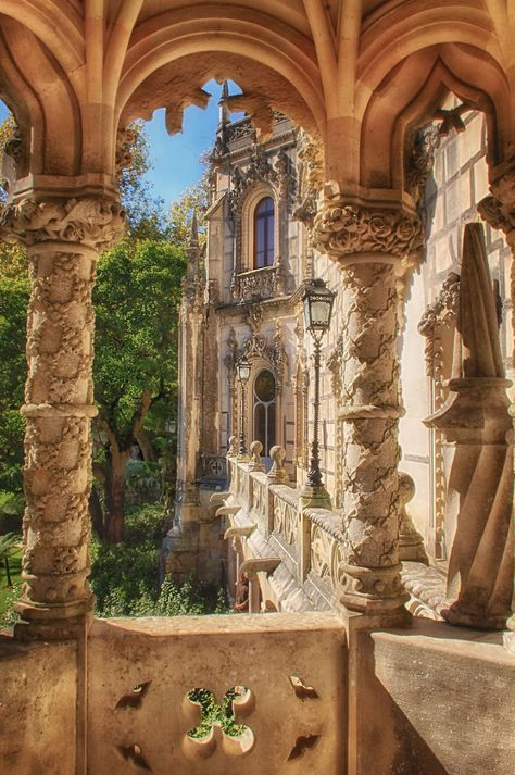 The Palace Of Mystery: My Pictures Of Quinta Da Regaleira by Taylor Moore at Sintra, Portugal Regaleira Balc Baroque Architecture, Beautiful Architecture, Architecture Design, Classical Architecture, Le Palais, Northern Italy, Travel Aesthetic, Blue Aesthetic, Aesthetic Pictures