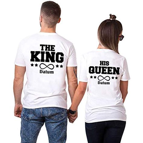 Partner T Shirt Idiot Zicke Pärchen Paar Valentinstag Geschenk