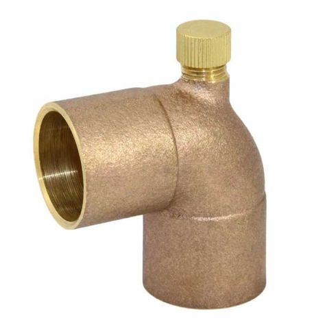 3 4 C X 1 2 Fpt X 3 4 C Cast Brass Baseboard Tee W Vent Cap It Cast Baseboard Heater Brass Fittings