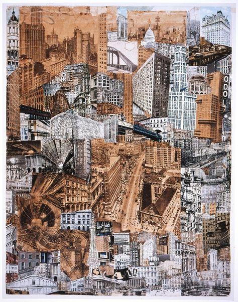 Paul Citroen, Metropolis, 1923