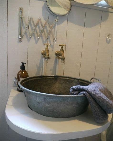 Rustic Bathroom Sink Faucets Artcomcrea