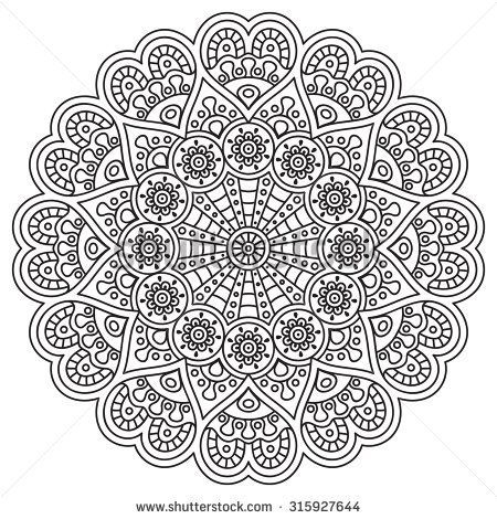 Mandala Vintage Dekorative Elemente Orientalisches Muster Vektorabbildung Ist Mandala World Muster Malvorlagen Mandala Ausmalen Mandala Malvorlagen