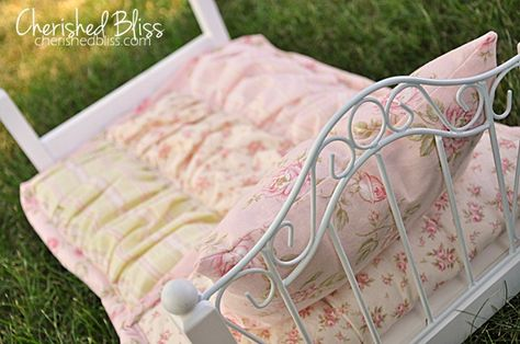 Baby Doll Quilt {tutorial}