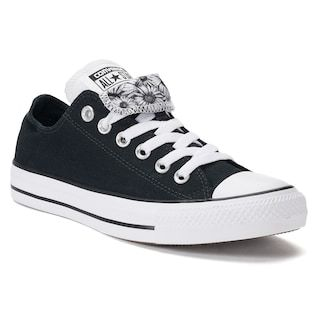 Details about Converse All Star Double Tongue Ox Flower Blue White