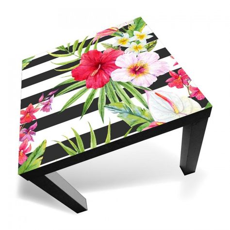 Dimensioni Tavolino Lack Ikea.Lack Tropical Paradise Decoracao Moveis Restaurados E Moveis